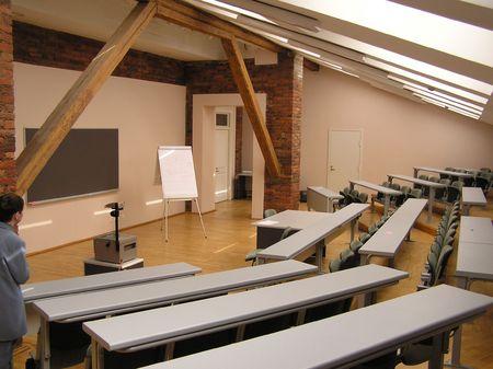collegiate: Lecture hall