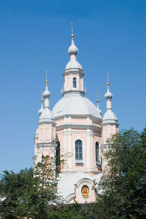 sudarium: St Petersburg. View of the Apostle Andrew Cathedral