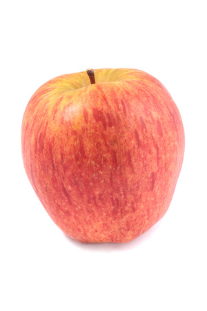Close-up of red apple, isolated on white background Stock Photo - 1491663