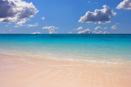 Lanikei Beach - Hawaii Stock Photo