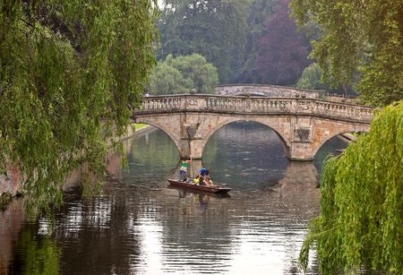 cambridge: Ponding at Cambridge University, England