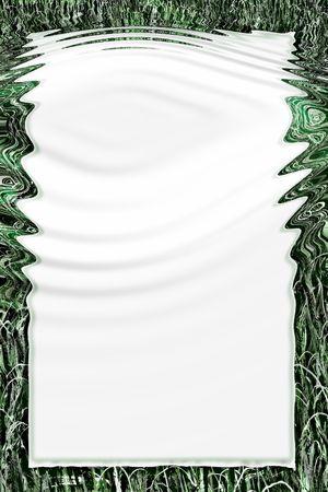 Framed paper photo