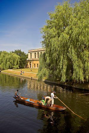 Cambridge University, England Stock Photo - 585010