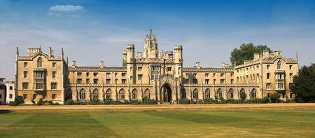 Cambridge University, England Stock Photo - 584993
