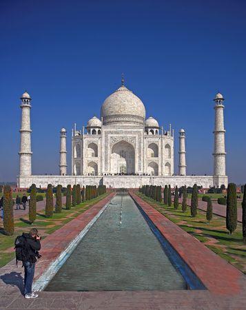 Taj Mahal, India Stock Photo