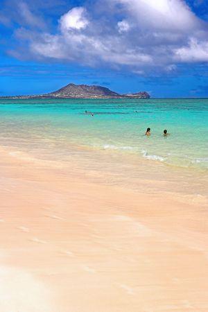 redish: My tropical beach Stock Photo