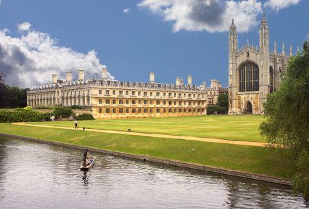 Cambridge University, England Stock Photo - 589246