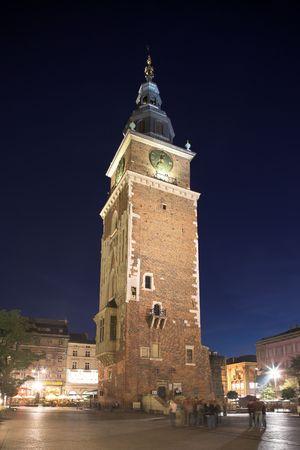 house gables: Krakow in Poland