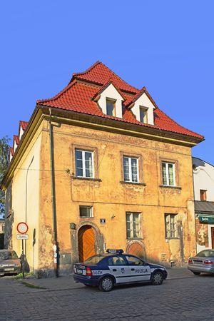 house gables: Krakow, Polan