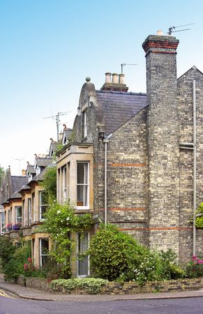 English houses Stock Photo - 655991