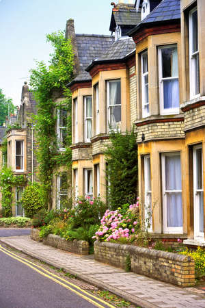 devanture: Anglais maisons