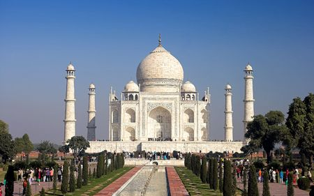 mumtaz: Taj Mahal, India Stock Photo