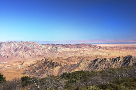 Panorama view of North American desert Stock Photo - 726871