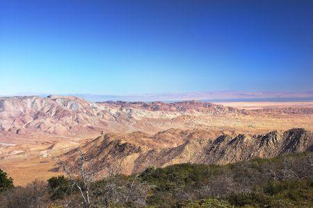 Panorama view of North American desert Stock Photo - 726871