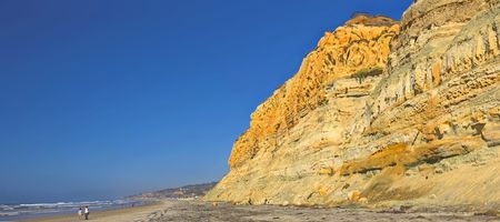 Torrey Pines Beach at La JollaDel Mar, California photo