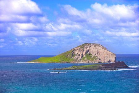 Hawaiian small island photo