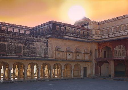 mumtaz: Indian palace Stock Photo