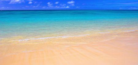 Hawaiin beach (Lanikei Beach, Oahu, Hawaii) photo