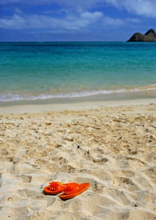 ha: Photo of tropical beach (HA) Stock Photo