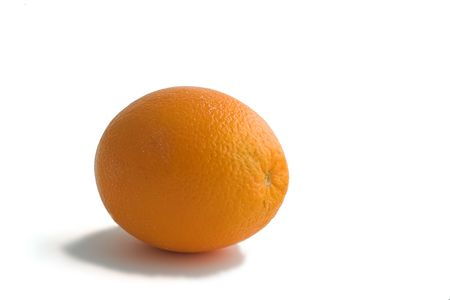 Isolated photo of ripe orange photo