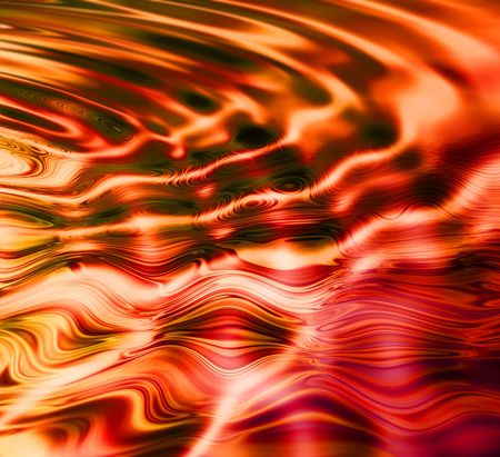created: Digitally created abstract ripples using pool photo as material