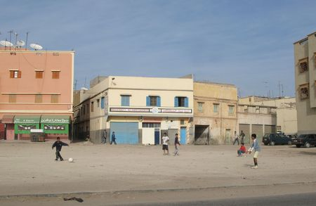 underprivileged: Area urbana (Agadir) in Marocco, Africa