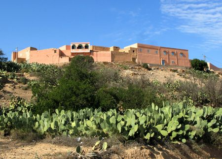 Photo of countryside village (Morocco, Africa) photo