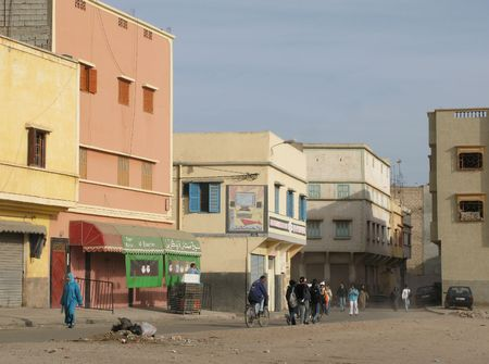 marocco: Urban area (Agadir) in Marocco, Africa Stock Photo