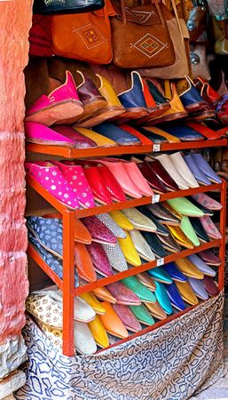 The Medina - traditional Arab shopping center photo