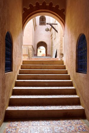 middleages: Old arab architecture - urban details