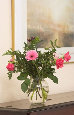 A bouquet on the piano Stock Photo - 789217