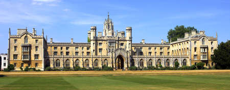 cambridge: Photo from Cambridge University, England Stock Photo