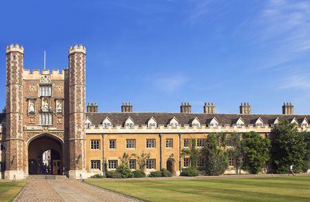 Photo from Cambridge University, England Stock Photo