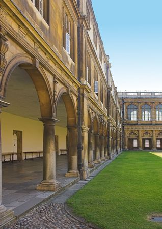 dorm: Photo from Cambridge University, England Stock Photo