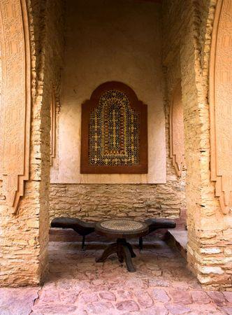 Old arab architecture - urban details photo