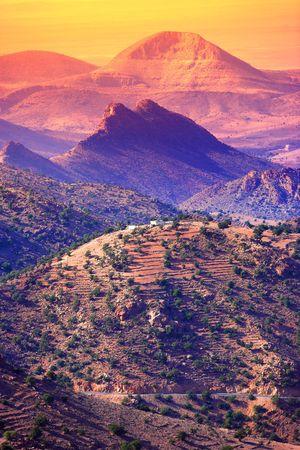 Mountain landscape in Morocco Stock Photo - 789256