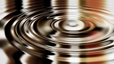 liquid material: Background ripples in liquid material