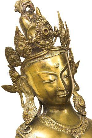 stylistic: Photo of Indian God (isolation)
