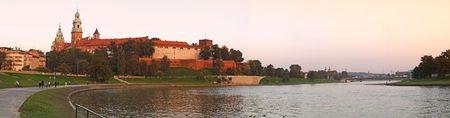 historical reflections: A photo of Royal Wawel Castle.Krakow - Poland