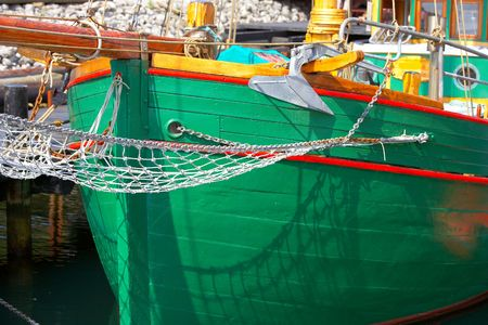 A photo of details of a boat Stock Photo - 2097193