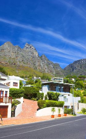 Luxury living in a mountain village in South Africa photo