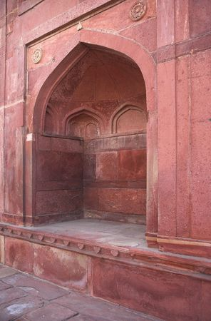jagmandir: A photo of an old muslim building in India Stock Photo