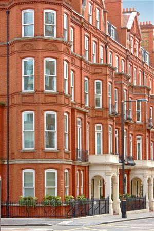 Houses in the City of London photo