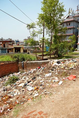filthiness: Editorial: filth in the streets of Kathmandu, Nepal