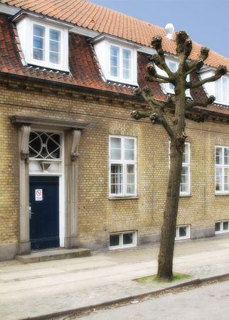 Old Danish houses Stock Photo - 5143422