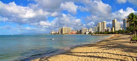 waikiki beach: Waikiki Beach - Honolulu, Oahu, Hawaii