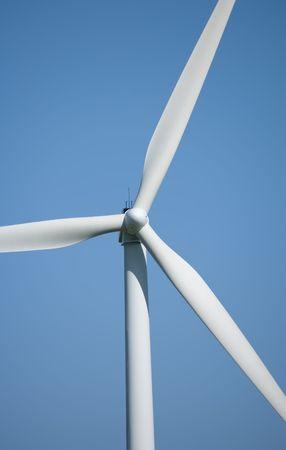 Modern windmill photo