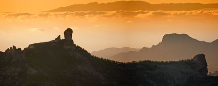 Gran Canary - a panorama photo photo