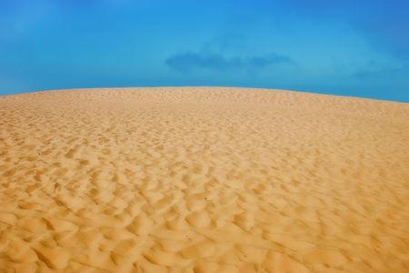 Desert and blue sky Stock Photo - 5417219