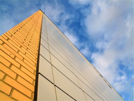 postmodern: Architecture - postmodern and futuristic Stock Photo